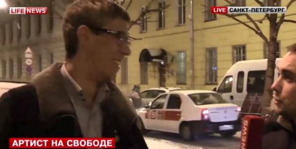 Алексей Панин вышел на свободу