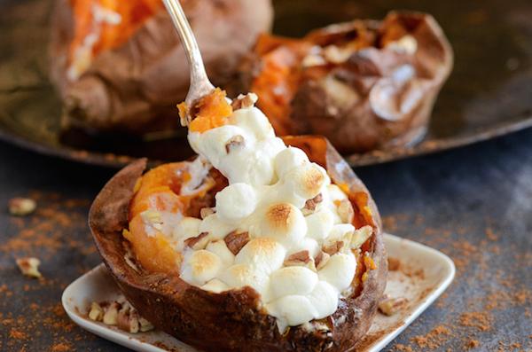Сладкий фаршированный картофель
