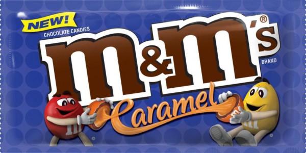 M&M's с карамельным вкусом выйдут в 2017 году