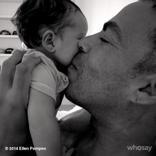 Криса Айвери с дочкой