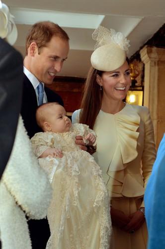 В Лондоне окрестили принца Джорджа