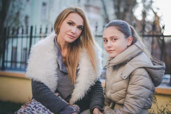 Ольга Сумская с младшей дочкой Анечкой