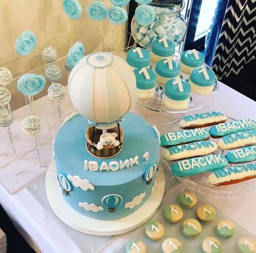 Торт для сына Осадчей и Горбунова фото