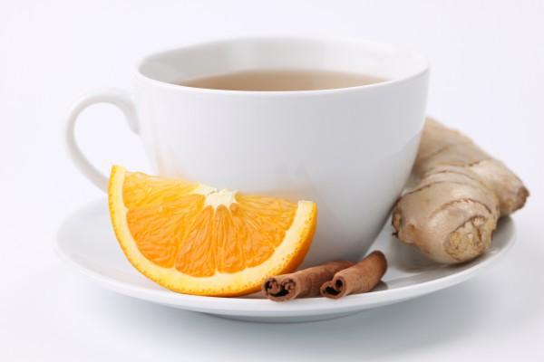 Имбирный чай укрепляет иммунитет