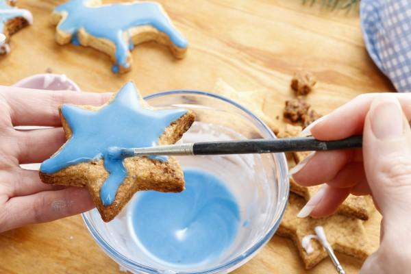 Печенье для Деда Мороза