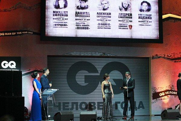 Во время объявления номинантов на Актера года зал громче всего аплодировал Михаилу Ефремову