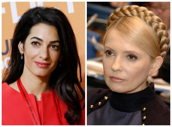 Жена Джорджа Клуни защищала Юлию Тимошенко