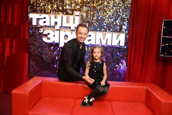 Артем Гагарин с дочерью
