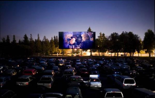 Автомобильный кинотеатр «Кинодром»