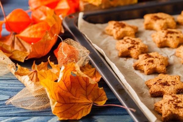 Осеннее печенье с тыквой