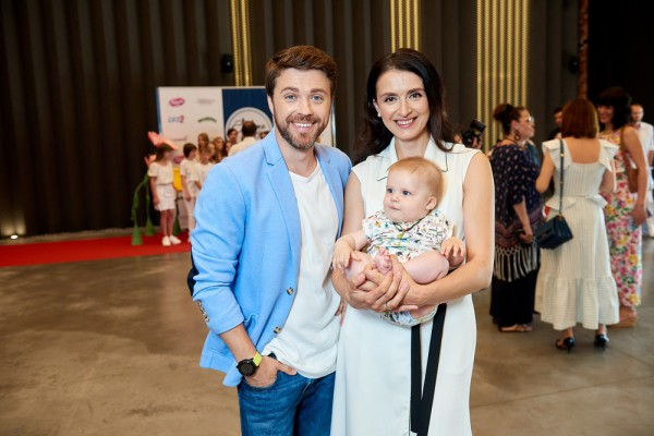 Александр Попов и Валентина Хамайко с сыном