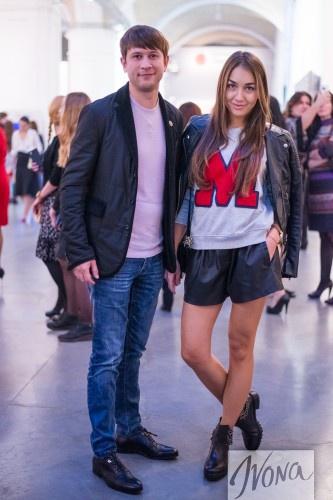 Дмитрий Ступка с невестой Катериной