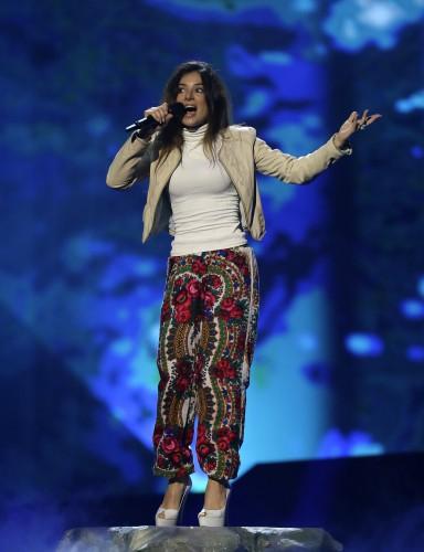Евровидение 2013: Злата Огневич. Репетиция