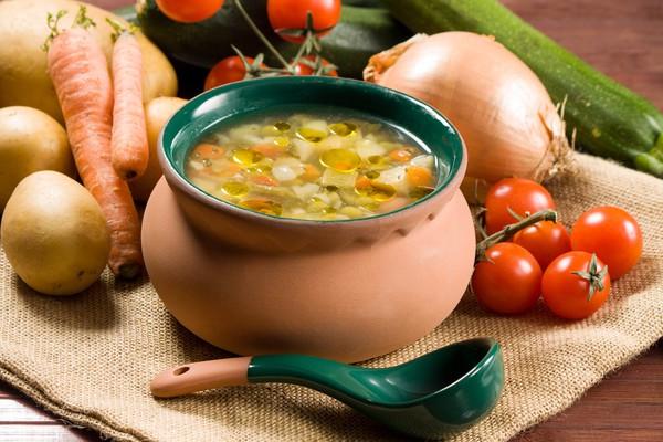 Суп из чечевицы и овощей