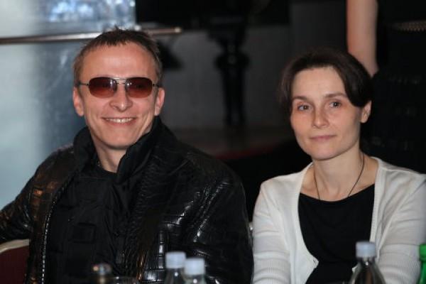 Иван Охлобыстин с женой Оксаной Арбузовой