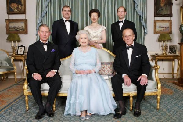 Дети Елизаветы II и принца Филиппа