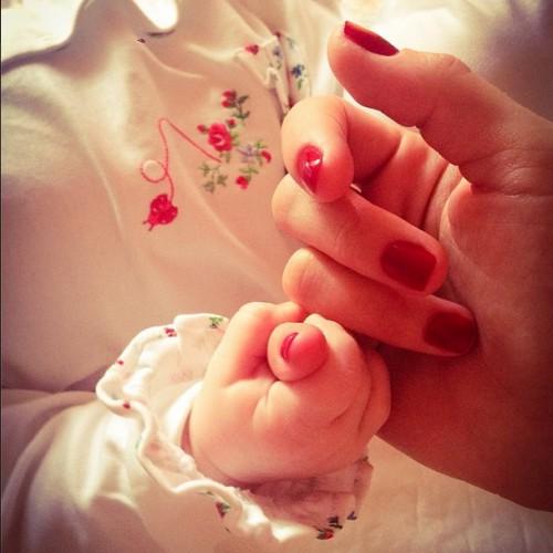 Кристина Асмус показала снимок с дочерью Анастасией