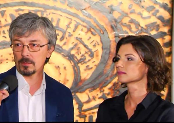 Александр Ткаченко со своей избранницей