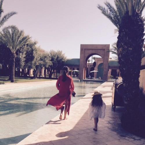 Дочь Виктория Бекхэм с ранних лет унаследует стиль своей мамы