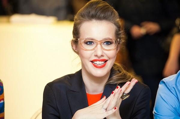 Российская журналистка Ксения Собчак