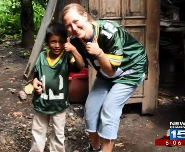 Хенри и Эрин, благодаря которой мальчик смог обрести слух