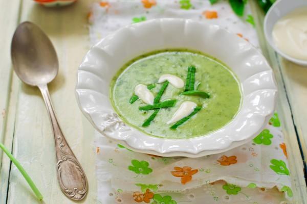 Суп с черемшой