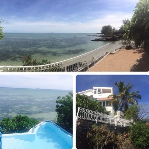 Оля Полякова показала фото своего личного пляжа на острове Марвикий