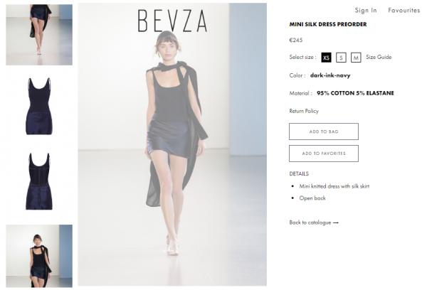 Эмили Ратаковски примерила платье от украинского дизайнера
