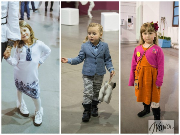 Маленькие киевские модницы