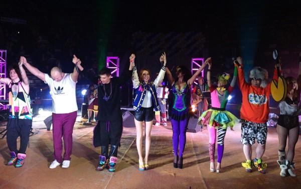 Несмотря на инцидент, концерт в Тернополе прошел на высоком уровне
