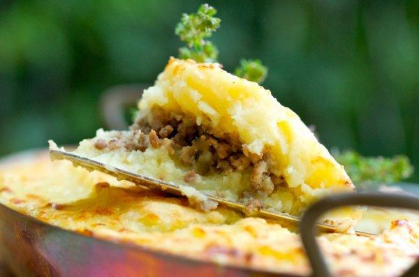 Запеканка с курицей грибами и с сыром