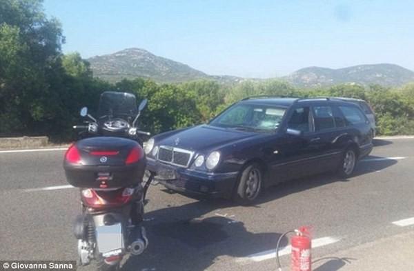 Джордж Клуни попал в аварию: место происшествия
