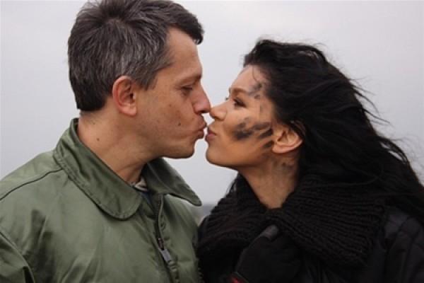Руслана с мужем, Александром Ксенофонтовым, украинским продюсером
