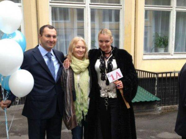 Анастасия Волочкова и 1-го октября приняла решение отличиться