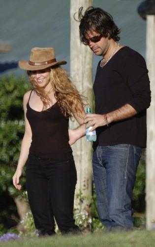 Шакира и Антонио де ла Руа до расставания