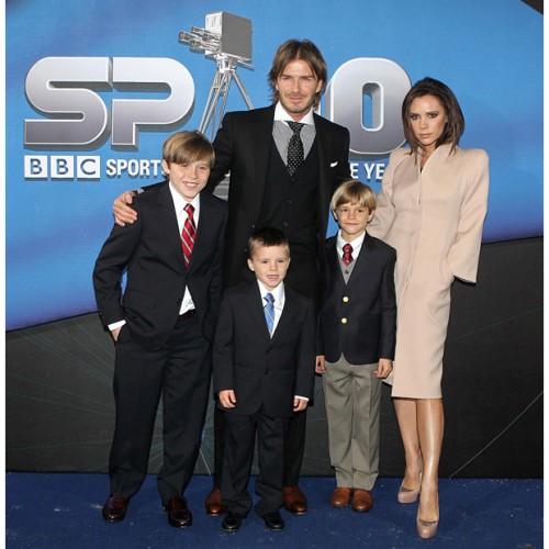 Виктория и Дэвид Бекхэм провели новогодние праздники с семьей