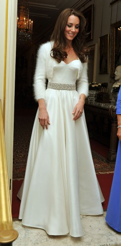 Второе свадебное платье Кейт Миддлтон