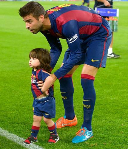 Пике с сыном