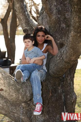 Санта Димопулос показала сына, которому 4 года