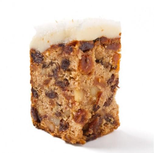 Рецепт                  Рождественский кекс с орехами и сухофруктами