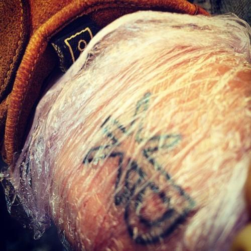 Иван Охлобыстин показал новую татуировку