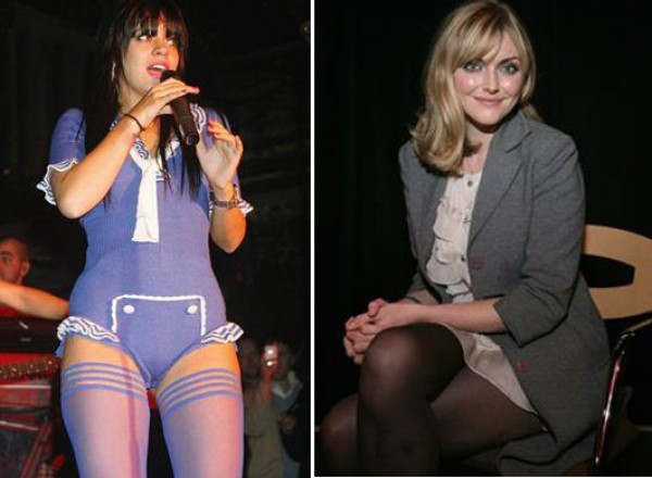 Английская певица Лили Аллен и модель Софи Даль