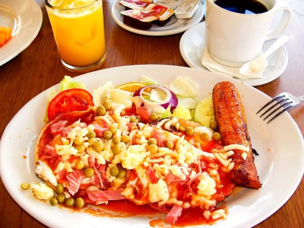 Рецепт                  Яичница по-мексикански