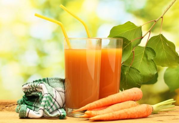 Морковь снижает вероятность получения солнечных ожогов