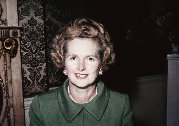 Железная леди Маргарет Тэтчер, была премьер-министром Великобритании с 1979 по 1990 год