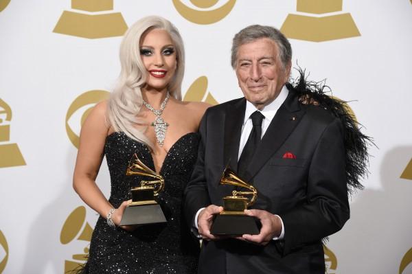 Lady GaGa вместе с Тони Беннеттом