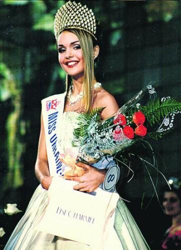 Мисс Украина Вселенная 1998 Елена Спирина