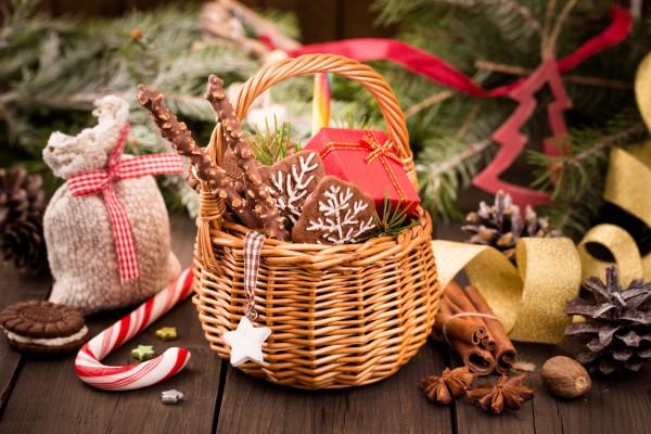 Вкусные подарки к новому году