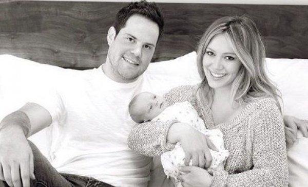 Хилари Дафф особенно счастлива после рождения первенца