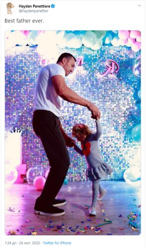 Владимира Кличко с дочерью